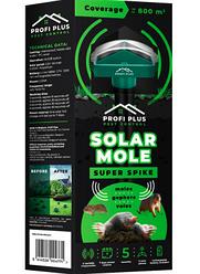 Відлякувач кротів і підземних гризунів Profi Plus Super Spike Pest Control на сонячній батареї