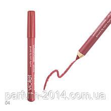 Стійка матова помада, контурний олівець блиск для губ Violet Lip Pencil №004 - Peony