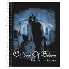 Нашивка катаная CHILDREN OF BODOM Follow The Reaper