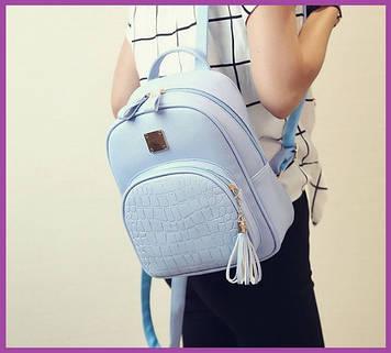 Жіночі міські рюкзаки, Стильний жіночий рюкзак, Рюкзак жіночий середній, Жіночий рюкзак на спину