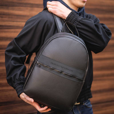 Мужские рюкзаки экокожа