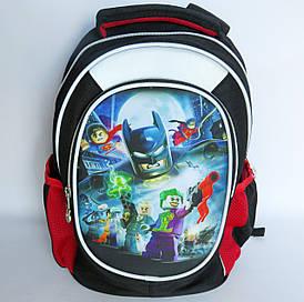 Школьный рюкзак для мальчика, с ортопедической спинкой, Герои Лего