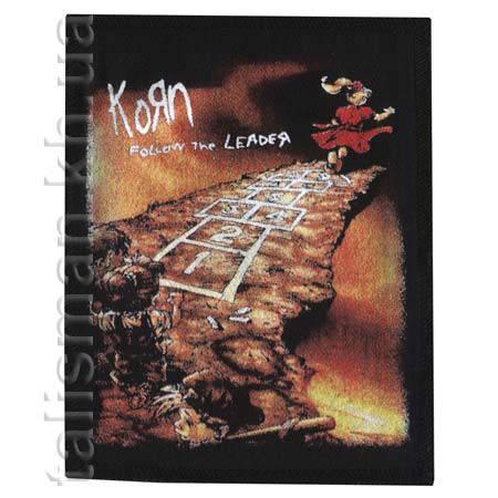KORN - Follow the Leader - нашивка катаная, фото 2