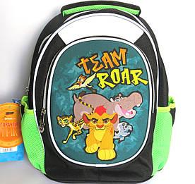 Школьный рюкзак для мальчика, с ортопедической спинкой, Лев