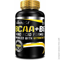 Всаа BioTech USA BCAA+B6  100tabs