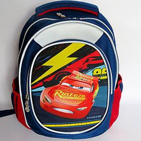 Школьный рюкзак для мальчика, с ортопедической спинкой, Машина