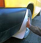Задні бризковики (2 шт, скловолокно) для Volkswagen Transporter T4