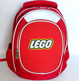 Шкільний рюкзак для хлопчика, з ортопедичною спинкою, Конструктор