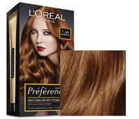 Краска для волос Loreal Preference 7.43 Шангрила Интенсивный медный