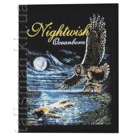 Нашивка катаная NIGHTWISH Oceanborn
