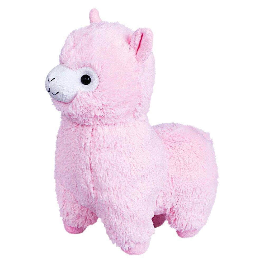 Мягкая игрушка FANCY Альпака розовая 26 см (ALPK01)