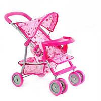 Прогулочная детская коляска для кукол Melogo (Melobo) 9304 BWT/ 025 КК