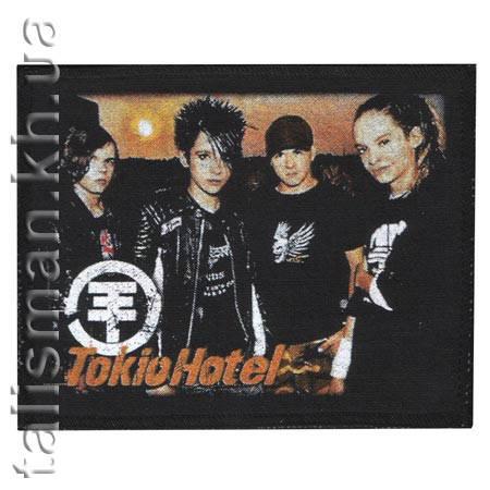 TOKIO HOTEL (группа) -1 - нашивка катаная, фото 2