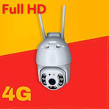 Поворотная камера видеонаблюдения с 4G SIM  360/90  N3-4G