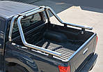 Дуга на кузов (нержавейка) 76мм для Nissan Navara/NP300 2016↗
