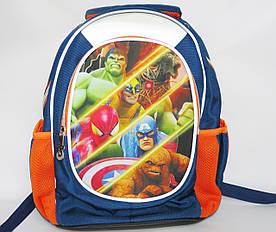 Школьный рюкзак для мальчика, с ортопедической спинкой, Крутые герои