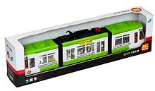 """Іграшка Big Motors """"Міський трамвай"""" зелений (1258-1)"""