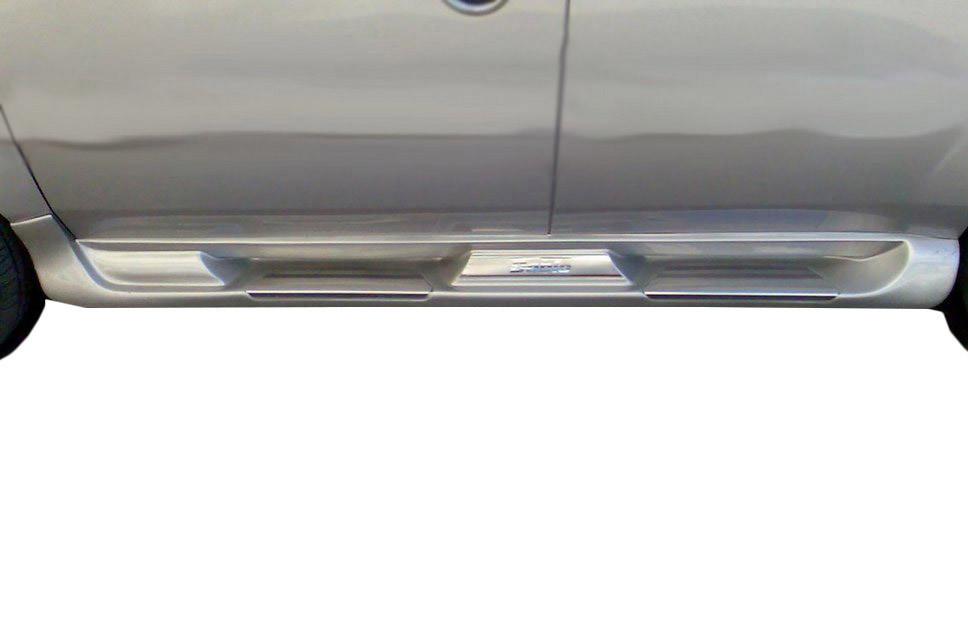 Бічні пороги Sorento тип (під фарбування) для Volkswagen Caddy (2010↗)