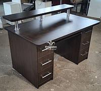 Компьютерный стол двухтумбовый Модель V606, фото 1