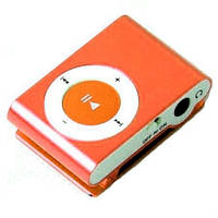 MP3 плеер iPod Shuffle Копия оранжевый
