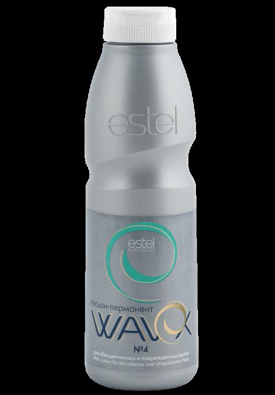 Estel WAVEX Лосьон-перманент №4 для обесцвеченных и поврежденных волос 500 мл.