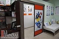Раздвижные межкомнатные двери-купе под заказ в Сумах