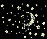 Наклейка виниловая Ночное небо 3D декор
