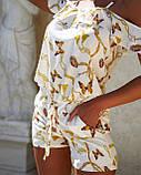 Женский летний комбинезон с шортами Софт Размер 42 44 46 48 50 52 В наличии 2 цвета, фото 2