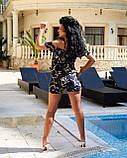 Женский летний комбинезон с шортами Софт Размер 42 44 46 48 50 52 В наличии 2 цвета, фото 8