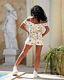 Женский летний комбинезон с шортами Софт Размер 42 44 46 48 50 52 В наличии 2 цвета, фото 6