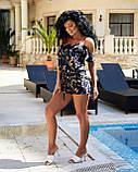 Женский летний комбинезон с шортами Софт Размер 42 44 46 48 50 52 В наличии 2 цвета, фото 7