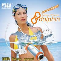Водонепроницаемый MP3 плеер Dolphin Swimmer 8Гб + FM радио
