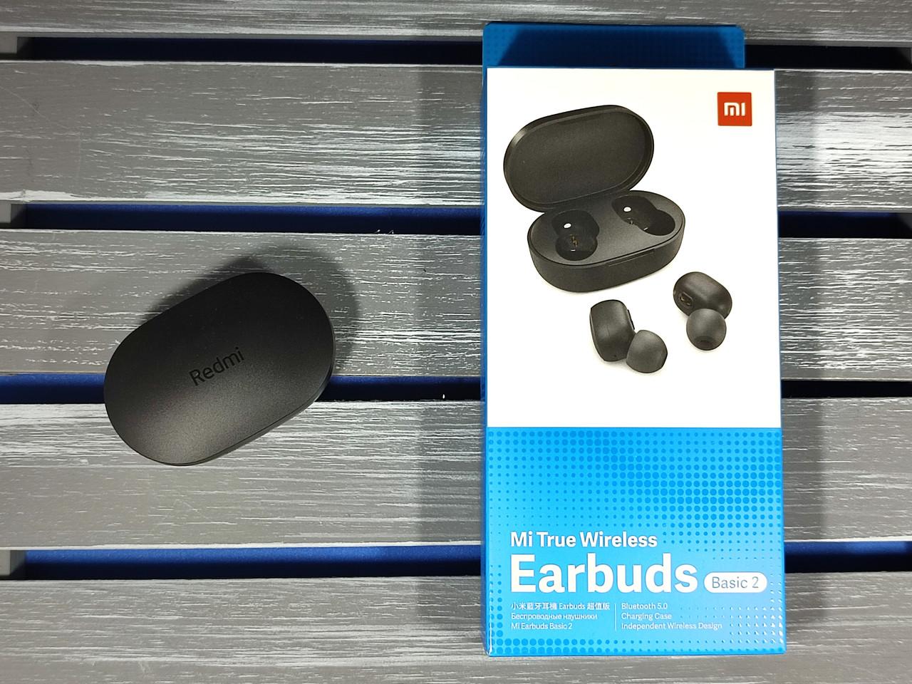 Бездротові навушники Mi True Wireless Навушники Basic 2. ОРИГІНАЛ + ГАРАНТІЯ 6 МІСЯЦІВ