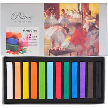 Пастель суха художньої 12 кольорів, 7300/12 Fine Art MARCO