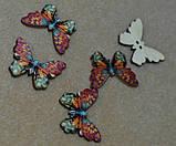 Пуговицы бабочки 18 мм * 25 мм , фото 2