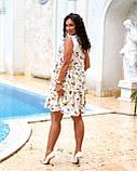Літнє плаття жіноче Софт Розмір 48 50 52 54 В наявності 2 кольори, фото 2