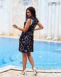 Літнє плаття жіноче Софт Розмір 48 50 52 54 В наявності 2 кольори, фото 3