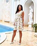 Літнє плаття жіноче Софт Розмір 48 50 52 54 В наявності 2 кольори, фото 5