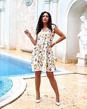 Літнє плаття жіноче Софт Розмір 48 50 52 54 В наявності 2 кольори