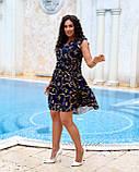 Літнє плаття жіноче Софт Розмір 48 50 52 54 В наявності 2 кольори, фото 4