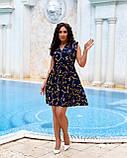 Літнє плаття жіноче Софт Розмір 48 50 52 54 В наявності 2 кольори, фото 7