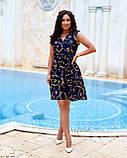 Літнє плаття жіноче Софт Розмір 48 50 52 54 В наявності 2 кольори, фото 6