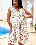 Літнє плаття жіноче Софт Розмір 48 50 52 54 В наявності 2 кольори, фото 8