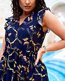 Літнє плаття жіноче Софт Розмір 48 50 52 54 В наявності 2 кольори, фото 9