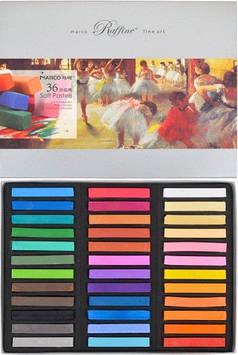 Пастель суха художньої 36 кольорів, 7300/36 Fine Art MARCO