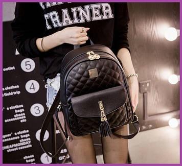 Стильний жіночий рюкзак Жіночий міський рюкзак, Рюкзачок ультрамодний жіночий, Жіночий рюкзак для міста
