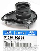 Подушка опора амортизатора переднего правая HYUNDAI ACCENT 06-;KIA RIO 05- 546101G555