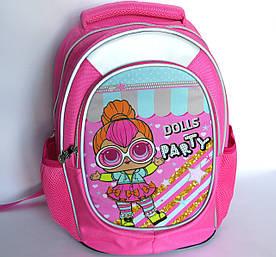 Шкільний рюкзак для дівчинки, з ортопедичною спинкою, Ляльки 2
