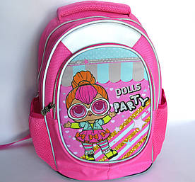 Школьный рюкзак для девочки, с ортопедической спинкой, Куклы 2