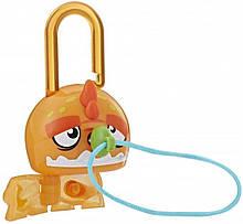Набор Hasbro Lock Stars Orange Dinosaur Замочки с секретом (E3103_E3170)